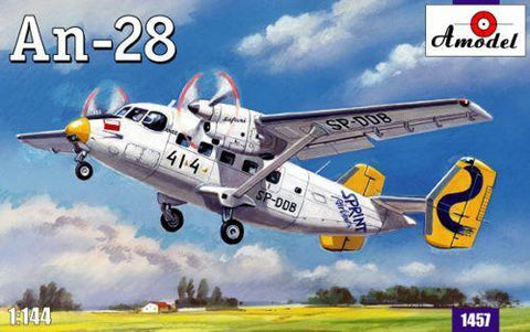 A Model From Russia 1/144 Antonov An28 Aircraft Kit