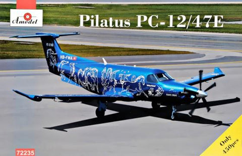 A Model From Russia 1/72 Pilatus PC12/47E Turbo-Porter Light Transport Aircraft Kit