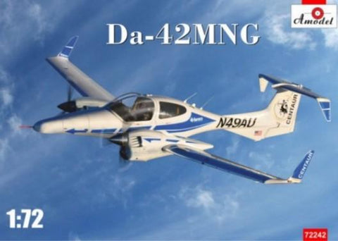 A Model From Russia 1/72 Da42MNG Twin-Engine Aircraft Kit