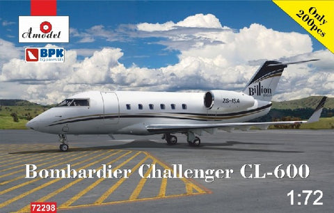 A Model From Russia 1/72 Bombardier Challenger CL600 Billion Group Business Jet Kit