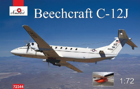 A Model From Russia 1/72 Beechnut C12J Military Turbo Prop Aircraft Kit