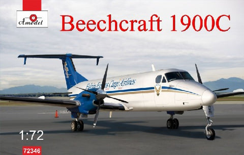 A Model From Russia 1/72 Beechcraft 1900C Falcon Express Cargo Turboprop Aircraft Kit