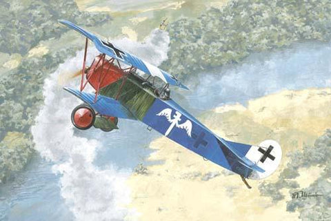 Roden 1/72 Fokker D VII (Early) WWI German Fighter Kit