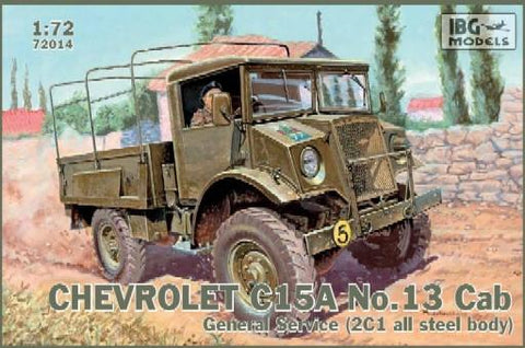 IBG Military Models 1/72 Chevrolet C15A Cab 13 General Service Military Truck Kit