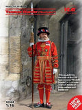 ICM 1/16 Yeoman Warder (Beefeater) Guard Kit