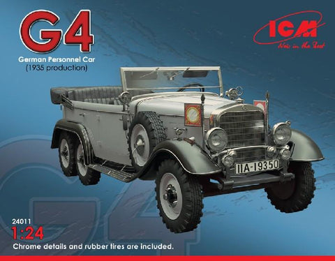 ICM 1/24 German G4 1935 Production Personnel Car Kit