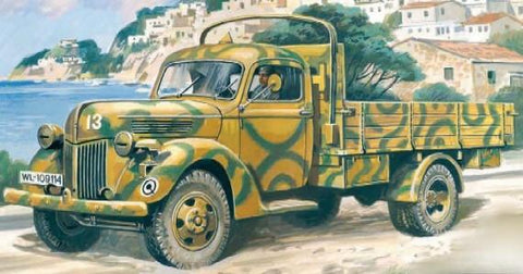 ICM 1/35 German V3000S 1941 Production Army Truck Kit