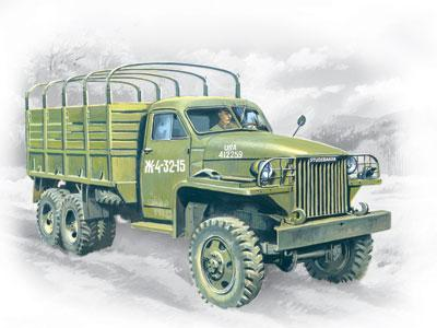 ICM Military 1/35 WWII Studebaker US6 Army Truck Kit