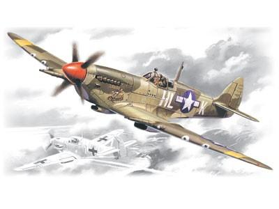 ICM Aircraft 1/48 WWII USAAF Spitfire Mk VIII Fighter Kit