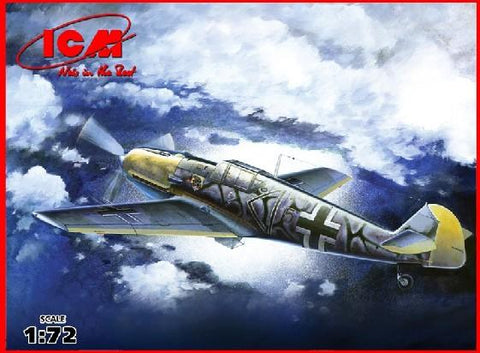 ICM 1/72 WWII German Messerschmitt Bf109E7/B Fighter/Bomber Kit