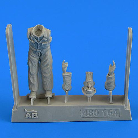 Aerobonus Details 1/48 WWII German Mechanic Officer