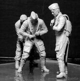 Master Box Ltd 1/32 WWII Luftwaffe Pilots (3) Kit
