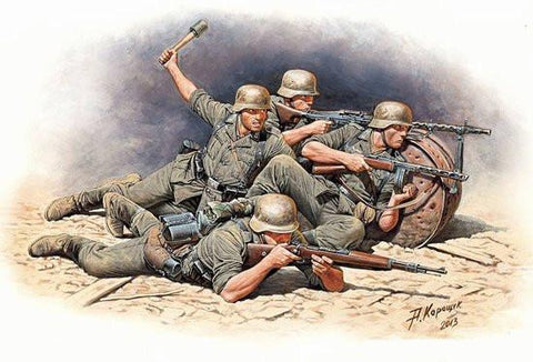 Master Box Ltd 1/35 German Infantry Defense Eastern Front 1941-42 (5) Kit