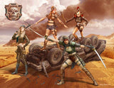 Master Box 1/35 Desert Battle: Skull Clan Death Angels Women Warriors (4) Kit