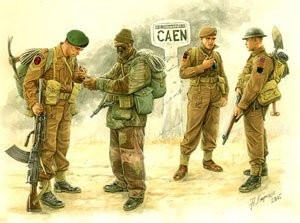 Master Box 1/35 British Troops Caen 1944 (4) Kit