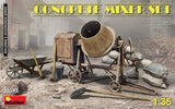 MiniArt Military 1/35 Concrete Mixer Set