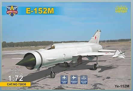 Modelsvit Aircraft 1/72 E152M Heavy Interceptor Fighter Ltd. Edition Kit
