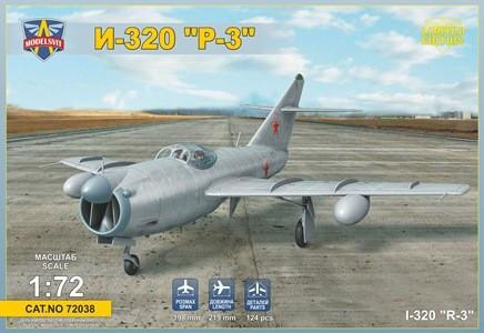 Modelsvit Aircraft 1/72 I320R3 Soviet All-Weather Interceptor Aircraft Ltd. Edition Kit