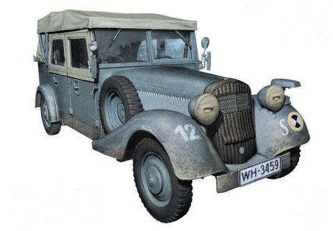 Master Box Ltd 1/35 WWII German SdKfz 1 Type 170VK Military Staff Car Kit