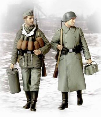 Master Box Ltd 1/35 Supplies At Last! German Soldiers 1944-45 (2) Kit