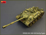MiniArt 1/35 Soviet Su122-54 Early Type Self-Propelled Howitzer on T54 Tank Chassis (New Tool) Kit