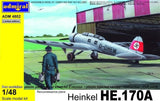 Admiral Models Aircraft 1/48 Heinkel He170A Recon Aircraft Kit