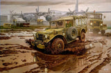 Roden Military 1/35 M42 3/4-Ton 4x4 Command Truck Kit
