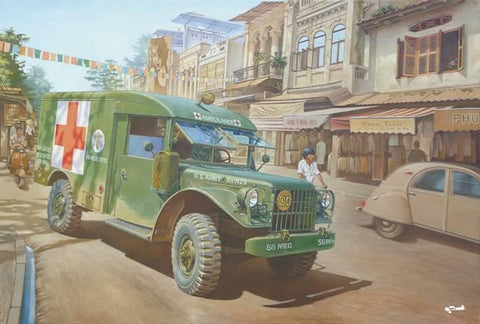 Roden Military 1/35 M43 3/4-Ton 4x4 US Army Ambulance Kit
