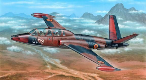 Special Hobby 1/72 Fouga Magister Exotic Air Forces Jet Trainer Kit