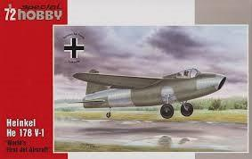 Special Hobby 1/72 Heinkel He178 V1 1st World Jet Aircraft Kit