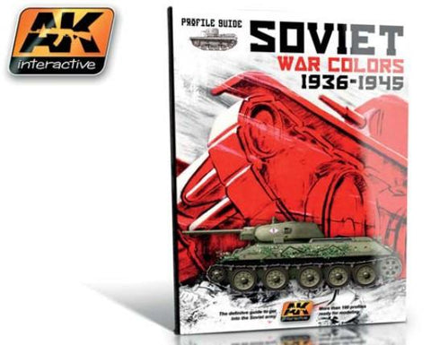 AK Interactive Soviet War Colors 1936-1945 Profile Guide Book
