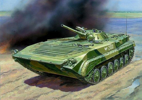 Zvezda 1/35 Soviet BMP1 Infantry Fighting Vehicle Kit