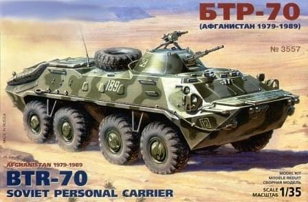 Zvezda 1/35 Soviet BTR70 Personnel Carrier Kit