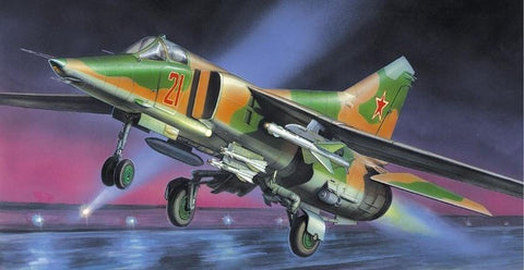 Zvezda Aircraft 1/72 MiG27 Flogger D Soviet Fighter/Bomber Kit