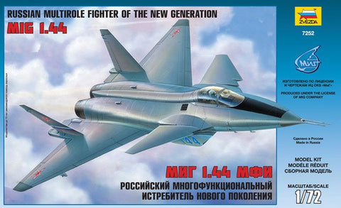 Zvezda Aircraft 1/72 Russian MiG1.44 Multi-Role Fighter of the New Generation Kit