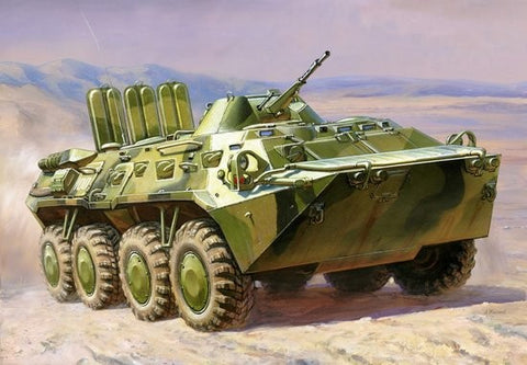 Zvezda Military 1/100 Russian BTR80 Armored Personnel Carrier Kit