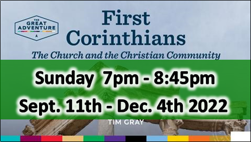 FIRST CORINTHIANS (Thurs. AM)