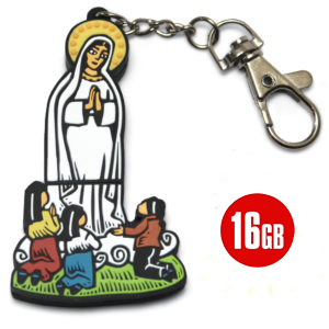 16GB_Flash_Drive OUR LADY OF FATIMA