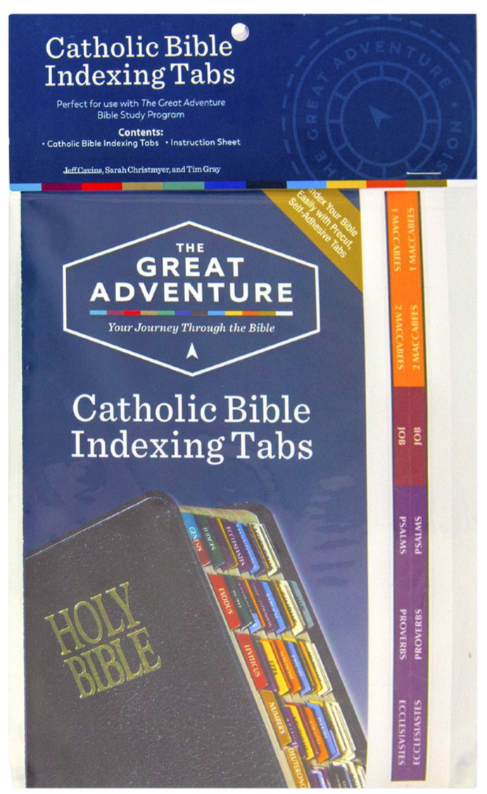 The Great Adventure Bible Tabs