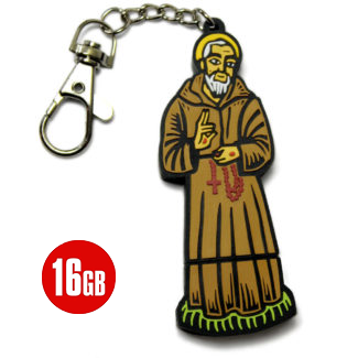 16GB_Flash_Drive ST. PADRE PIO