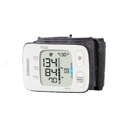 7 Series Advanced Accuracy Wrist Monitor, IntelliSense, Heart Guide Technology, 2 Users, BP Level Indicator