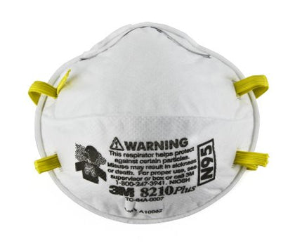 Particulate Respirator Mask 3M™ Industrial N95 Cup Elastic Strap One Size Fits Most White NonSterile