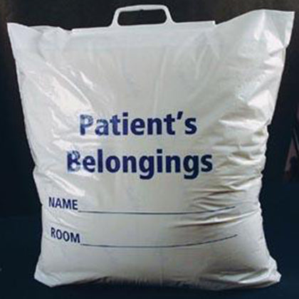 ADI PATIENT PERSONAL BELONGINGS BAGS