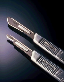 Rib-Back® Carbon Steel Blade, Non-Sterile, Size 22, 6/strip, 25 strips/cs (Not Available for sale into Canada)