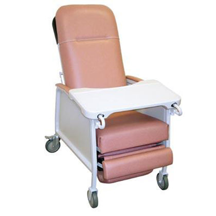 DRIVE MEDICAL 3 POSITION RECLINER, ROSEWOOD