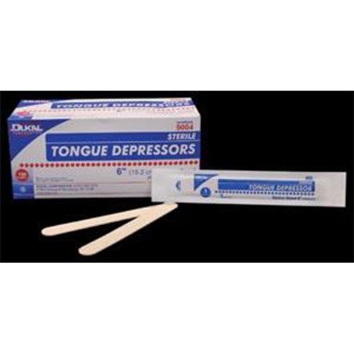 "Tongue Depressor, Senior, 6"", Non-Sterile, 500 pc/bx, 10 bx/cs"