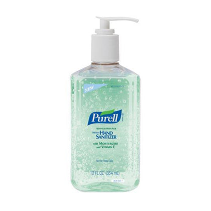 Instant Hand Sanitizer with Aloe, 12 fl oz Pump Bottle, 12/cs  (Item is considered HAZMAT and cannot ship via Air or to AK, GU, HI, PR, VI)
