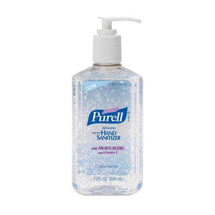Instant Hand Sanitizer, 12 fl oz Pump Bottle, 12/cs (Item is considered HAZMAT and cannot ship via Air or to AK, GU, HI, PR, VI) (091214)