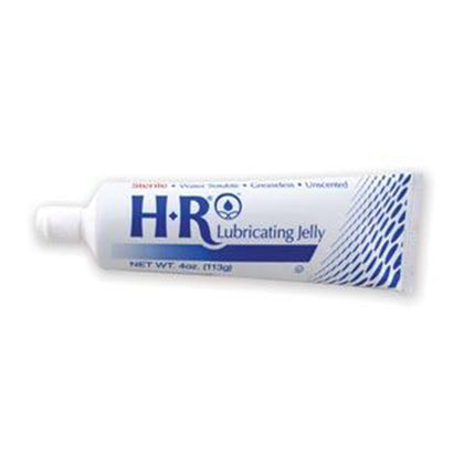 HR Sterile Lubricating Jelly 4oz. (113gm) Foil Laminate Flip-Top Tube, 12/bx - 6 bx/cs