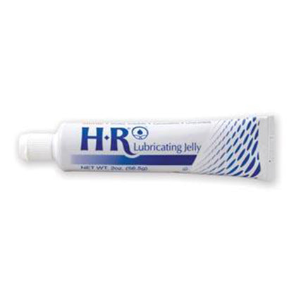 HR® Sterile Lubricating Jelly 2oz. (56.7gm) Foil Laminate Flip-Top Tube, 12/bx